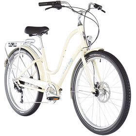 "Electra Townie Path 9D EQ 27,5"" Dames, cream"